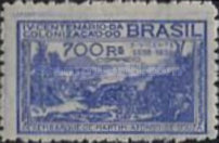 [The 400th Anniversary of the Colonization of Brazil, type EB]
