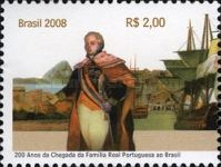 [The 200th Anniversary of the Portuguese Royal Family arrival in Brazil, type EBQ]