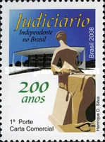 [The 200th Anniversary of the Arrival of the Portuguese Royal Family in Brazil - Independent Judiciary Branch in Brazil, type ECC]