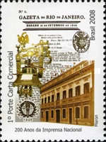 [The 200th Anniversary of the Arrival of the Portuguese Royal Family in Brazil - National Press, type ECR]