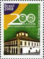 [The 200th Anniversary of the Arrival of the Portuguese Royal Family in Brazil - Ministry of Finance, type EDA]