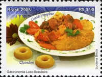 [The 200th Anniversary of the Arrival of the Portuguese Royal family in Brazil Shores - Luso-Brazil Gastronomy, type EDF]