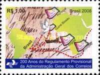 [Provisional Regulation of the Brazilian Post General Administration, type EDN]