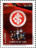 [The Road to the 2014 Football World Cup - The 100th Anniversary of the Sport Club International, type EDW]
