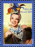 [Diplomatic Relations with Portugal - The 100th Anniversary of the Birth of Carmen Miranda, type EFH]