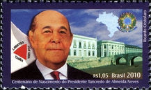 [The 100th Anniversary of the birth of President Tncredo de Almeida Neves, type EGB]
