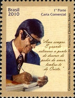 [The 100th Anniversary of the birth of Francisco Candido Xavier, type EGD]