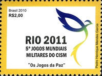 [The 5th Anniversary of the World Military Games - Rio 2011, type EGN]