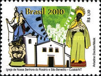 [Church of Our Lady of the Rosary and Saint Benedict - Cuiaba, State of Mato Grosso, type EGR]