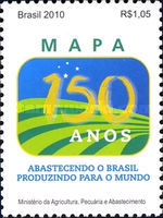 [The 150th Anniversary of the Ministry of Agriculture, type EHB]