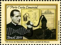 [The 150th Anniversary of the Birth of Father Landell de Moura, 1861-1928, type EJE]
