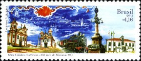 [The 300th Anniversary of the City of Mariana - State of Minas, type EJH]