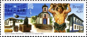 [The 300th Anniversary of the City of Sabara - State of Minas Gerais, type EJX]