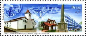 [The 400th Anniversary of the City of Mogi das Cruzes - State of Sao Paulo, type EKD]