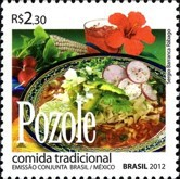 [Traditional Cuisine - Diplomatic Relations with Mexico, type EME]