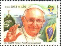 [World Youth Day - Pope Francis Visits Brazil, type EQC]