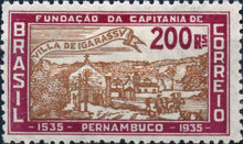 [The 400th Anniversary of the Founding of the First Settlement in Pernambuco, type EX]