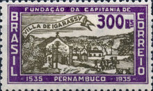 [The 400th Anniversary of the Founding of the First Settlement in Pernambuco, type EX1]