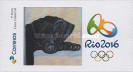 [Personalized Stamps - Olympic and Paralympic Games, Rio de Janeiro, type EZV]