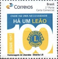 [The 100th Anniversary of Lions Clubs International, type FEB]