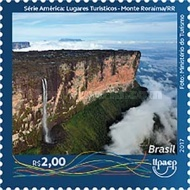 [America UPAEP Issue - Tourist Places, type FFG]