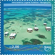 [America UPAEP Issue - Tourist Places, type FFH]