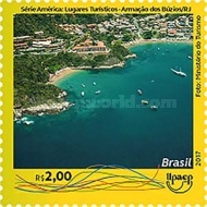[America UPAEP Issue - Tourist Places, type FFK]