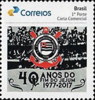 [The 40th Anniversary of the End of the Fast of the Sport Club Corinthians, type FGS]