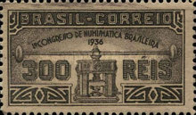 [The First Numismatic Congress, Sao Paulo - Thick Paper, type FI]