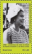 [The 50th Anniversary of the Visit of Queen Elizabeth II, type FIL]