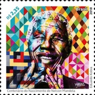 [The 100th Anniversary of the Birth of Nelson Mandela, 1918-2013, type FIS]