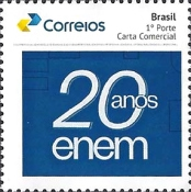 [The 20th Anniversary of the ENEM - Standardized Brazilian National Exam, type FJP]