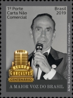 [The 100th Anniversary of the Birth of Nelson Gonçalves, 1919-1998, Typ FKE]