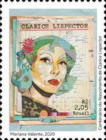 [The 100th Anniversary of the Birth of Clarice Lispector, 1920-1977, type FOT]