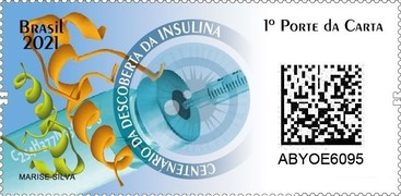[The 100th Anniversary of the Discovery of Insulin, type FQV]