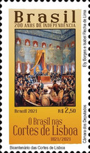 [The 200th Anniversary of Independence - The 200th Anniversary of Lisbon Court, type FQW]