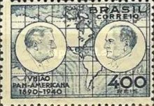 [The 50th Anniversary of the Pan American Union, type GW]