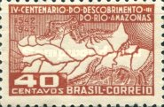 [The 400th Anniversary of the Discovery of Amazon River, type IG]