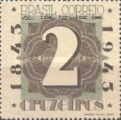 [Airmail - The 100th Anniversary of the Brazilian Postage Stamps, type IL1]