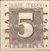 [Airmail - The 100th Anniversary of the Brazilian Postage Stamps, type IL2]