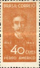 [The 100th Anniversary of the Birth of Pedro Americo, 1843-1905, type IS]