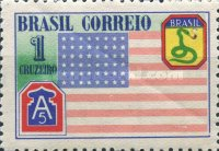 [The Return of the Brazilian Expeditionary Force from Italy and The American 5th Army, type JQ]