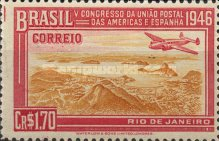 [The 5th Congress of the Postunion Between USA and Spain, type JZ]