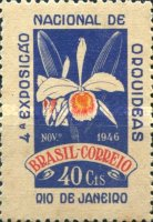 [The Fourth National Orchids Exhibition, Rio de Janeiro, type KG]