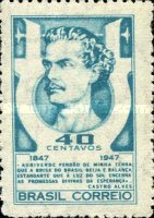 [The 100th Anniversary of the Birth of Antonio de Castro Alves, type KJ]