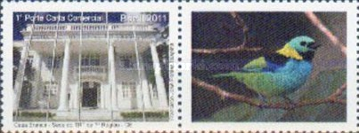 [The 70th Anniversary of the White House, Fortaleza - Personalized Stamp, type YJU]