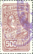 [Telegraph Stamps, type A1]