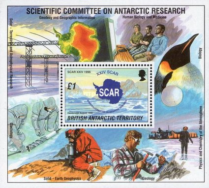 [The 24th Anniversary of the Conference for the International Scientific Committee for Antarctic Research - Cambridge, England, Typ ]
