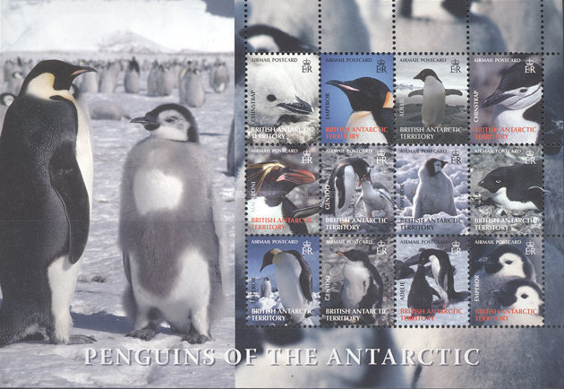 [Airmail - Penguins, Typ ]