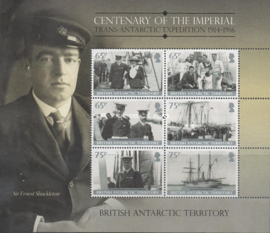 [The 100th Anniversary of the Shackleton Trans-Antarctic Expedition, Typ ]